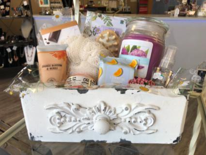 Pamper Me  White Decorative Box