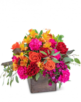 Panama Rainforest Flower Arrangement