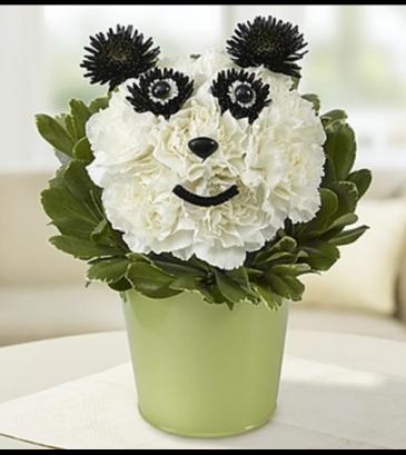 Panda Flower Pail™ Arrangement