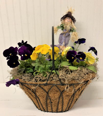 Pansy Wire Planter