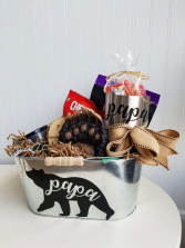 Papa Bear Dad Bucket