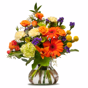 Papaya Whip Arrangement in Swannanoa, NC | SWANNANOA FLOWER SHOP
