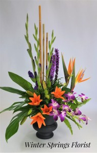 Paradise in Bloom  Sympathy Tribute  in Winter Springs, FL | WINTER SPRINGS FLORIST AND GIFTS