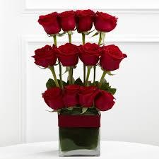 Parallel Rose Bouquet Love Arrangement