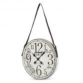 Paris Metal Wall Clock