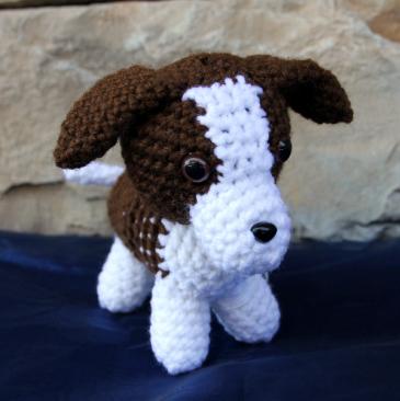 Paris the Puppy Grandma's Crochet Plush