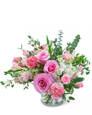Parisian Love Flower Arrangement in Nevada, IA   Flower Bed