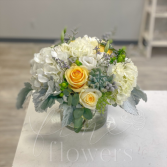 Partly Cloudy Vase Arrangement