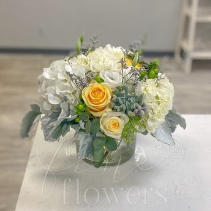 Partly Cloudy Vase Arrangement