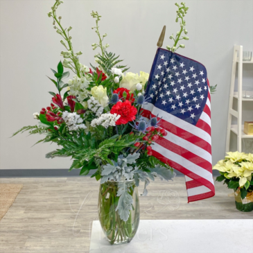 Party in the USA Vase Arrangement