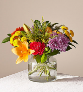 Party punch Clear Vase