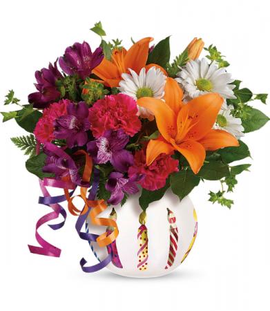 Party Starter All-Around Floral Arrangement