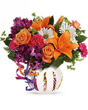 Party Starter Bouquet Birthday