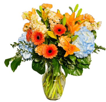 Pasion Arreglo de Flores para Cumpleanos