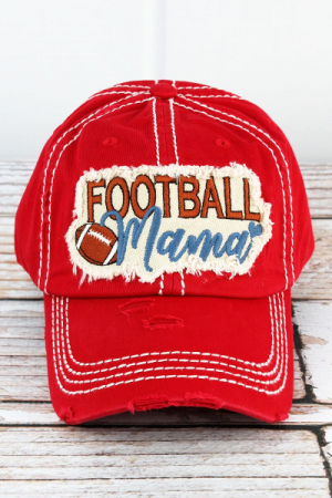 Pass Christian or Ole Miss Football Mama Hat
