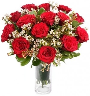PASSION ROSE BOUQUET in Germantown, MD | GENE'S FLORIST & GIFT BASKETS