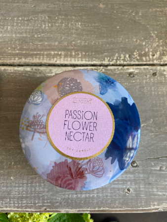 Passion Flower Candle  Gift