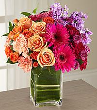 Passion for Fashion Bouquet  vased Arrangement