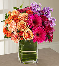 Passion for Fashion Bouquet  vased Arrangement