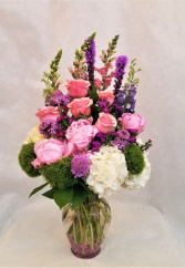Passion for Pinks Arrangement