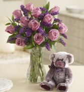 PASSION FOR PURPLE ROSE BOUQUET