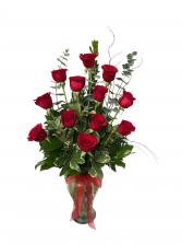 Passion in Bloom Rose Arrangement