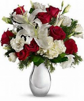 Passion on Ice Floral arrangement