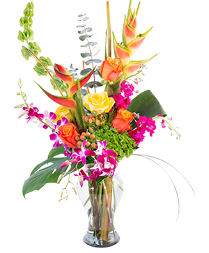 Passion Paradise  in Mount Pleasant, SC | BLANCHE DARBY FLORIST OF CHARLESTON