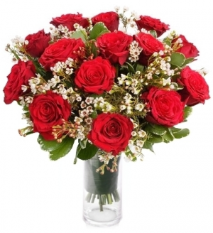 PASSION ROSE ARRANGEMENT in Gaithersburg, MD | Gaithersburg Florist & Gift Baskets