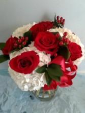 passion valentines vase