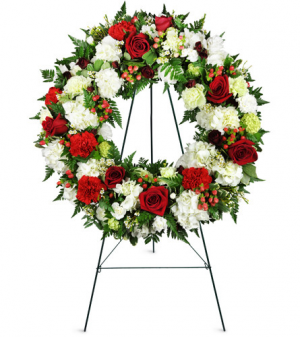 Passionate Faith Funeral Wreath in Winnipeg, MB | KINGS FLORIST LTD