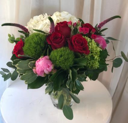 Passionate for You Vase Arrangement