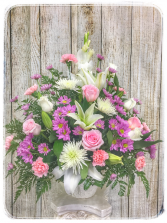 Passionate Grace Funeral Flowers