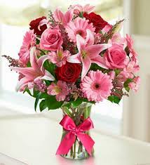 Passionate Pink Bouquet Anniversary in Loganville, GA | Flowers From The Heart