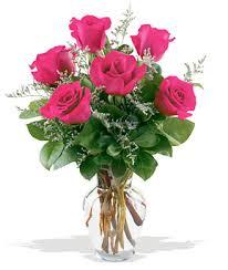 Passionate Pink Rose Arrangement