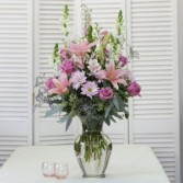 Passionate Pinks & Purples Tall Vase Arrangement