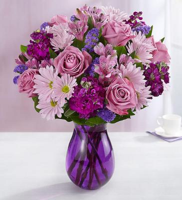 Passionate Purple Fresh Flowers