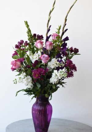 Passionate Purples  in La Grande, OR | FITZGERALD FLOWERS