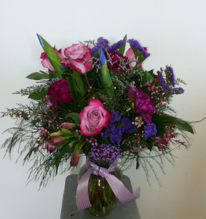 Passionately Purple Vase in Norway, ME | Green Gardens Florist & Gift Shop