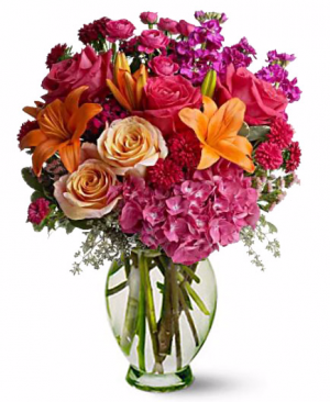 Passionfruit Arrangement in San Bernardino, CA | INLAND BOUQUET FLORIST
