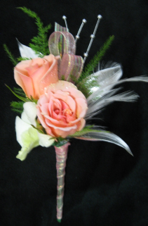 Passionista Boutonniere Prom  -  Homecoming