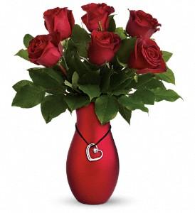 Passion's Heart Vase