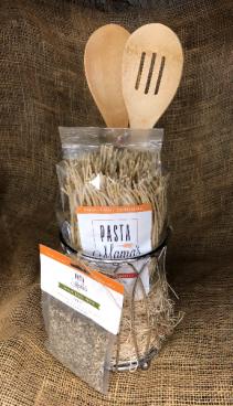 Utensil caddy pasta basket Pasta gift basket