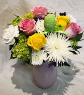 Pastals Galore Vase Arrangement