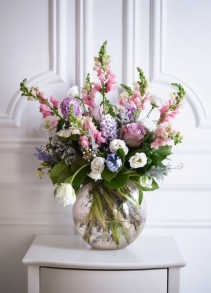 Pastel Beauty Vase arrangement