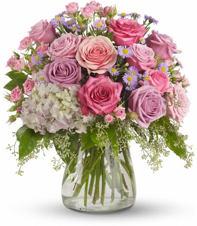 Pastel Beauty Vase Arrangement