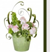 Pastel Bells Valentine Romantic Floral Design