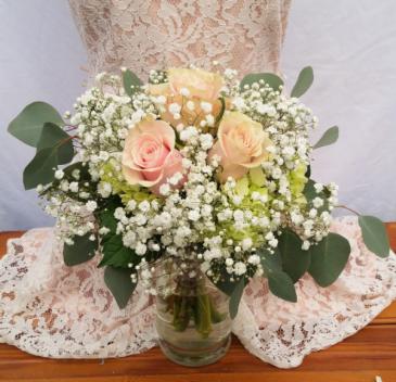Pastel Cloud Wedding Bouquet