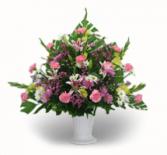 Pastel Color Fresh Flower Urn