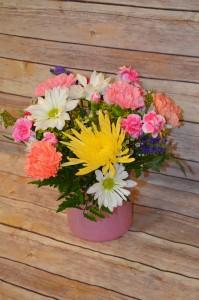 Pastel Cylinder Vase